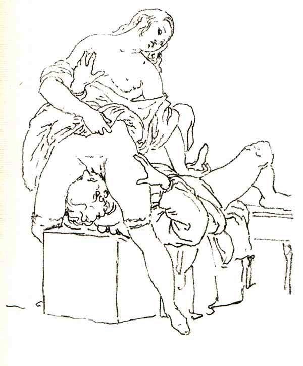 Рисунок кунилингус
