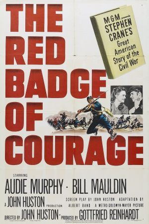 imagery in the red badge of courage