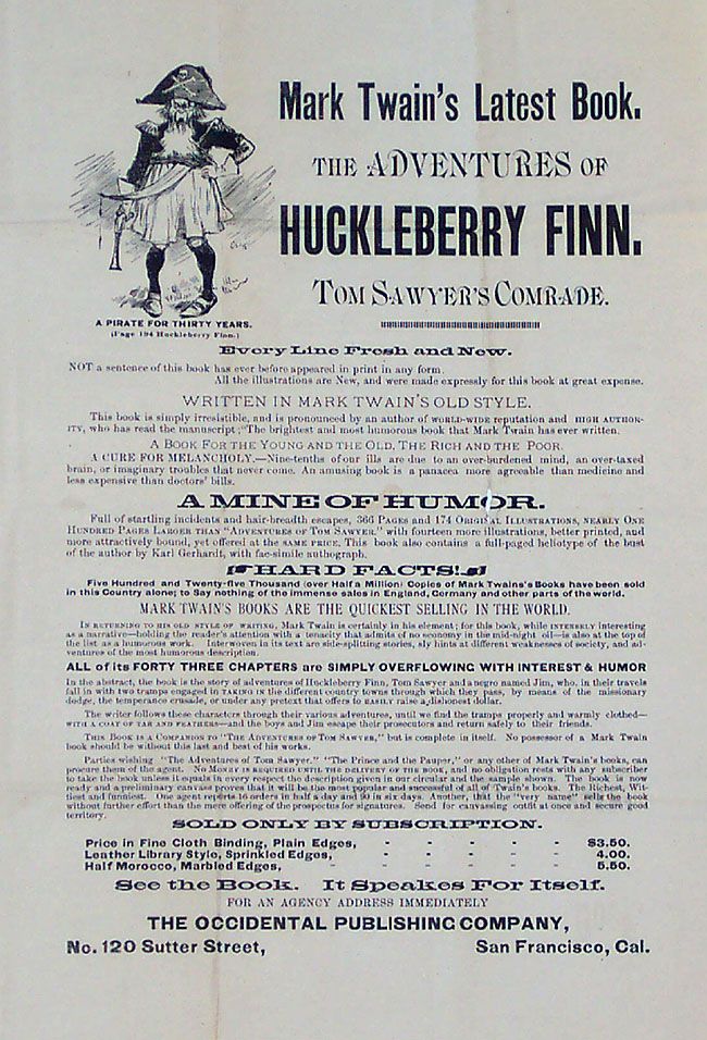 anti huckleberry finn essays Free essay on anti racism themes in huckleberry finn available totally free at  echeatcom, the largest free essay community.