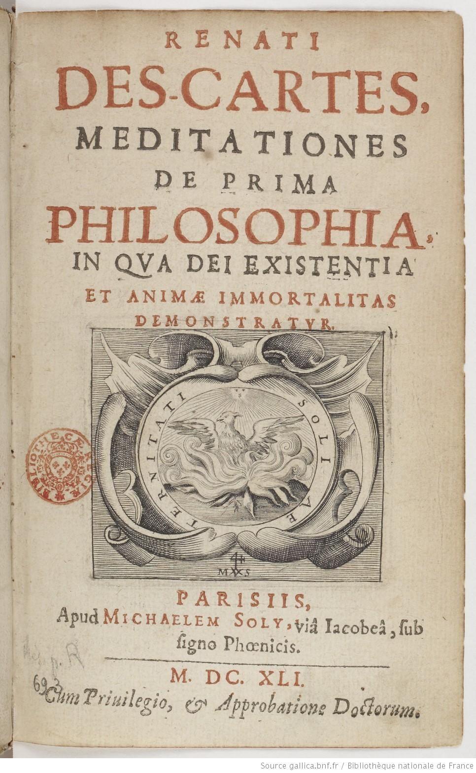 Descartes meditation essay