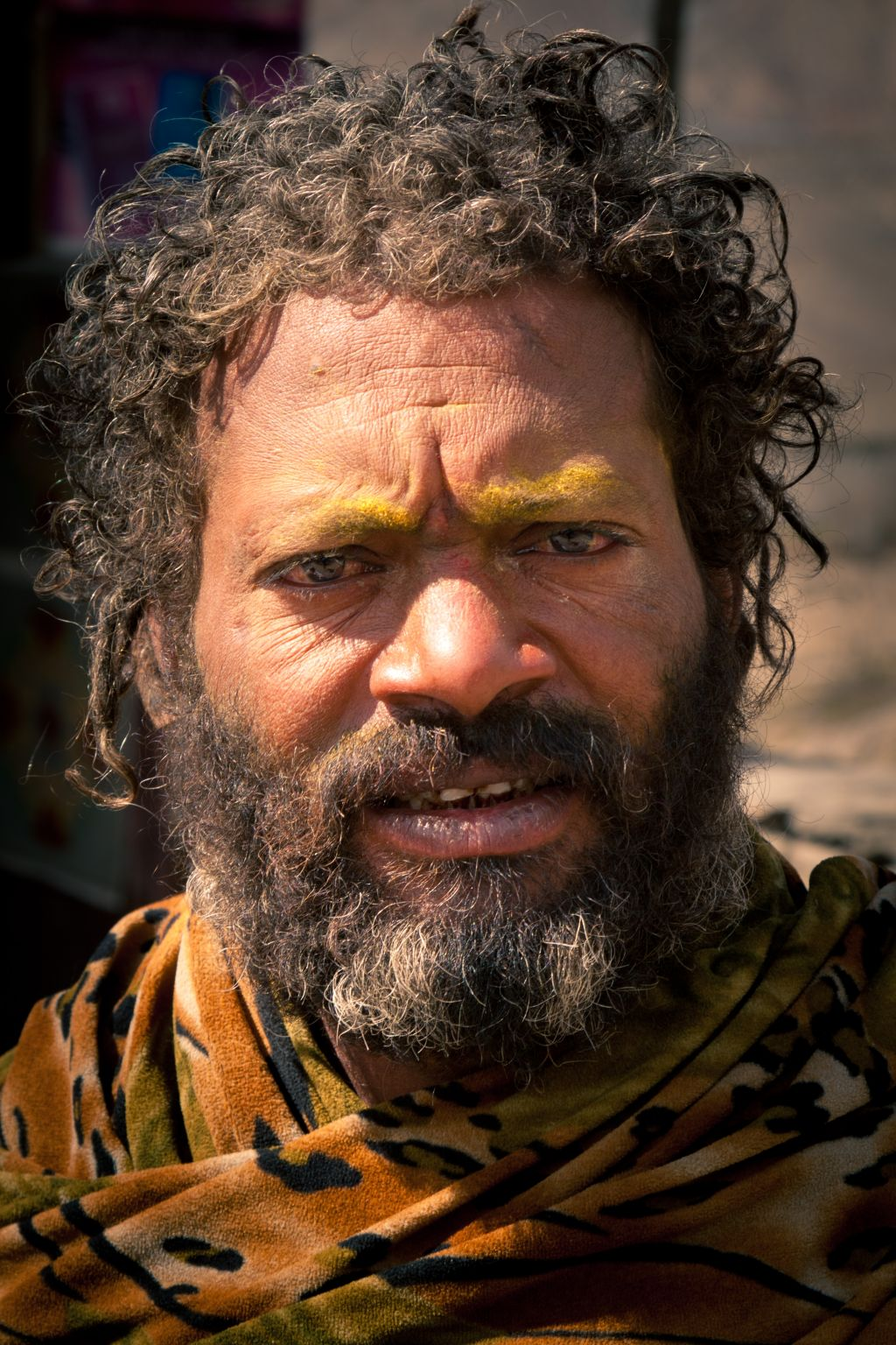 this case on parable of sadhu