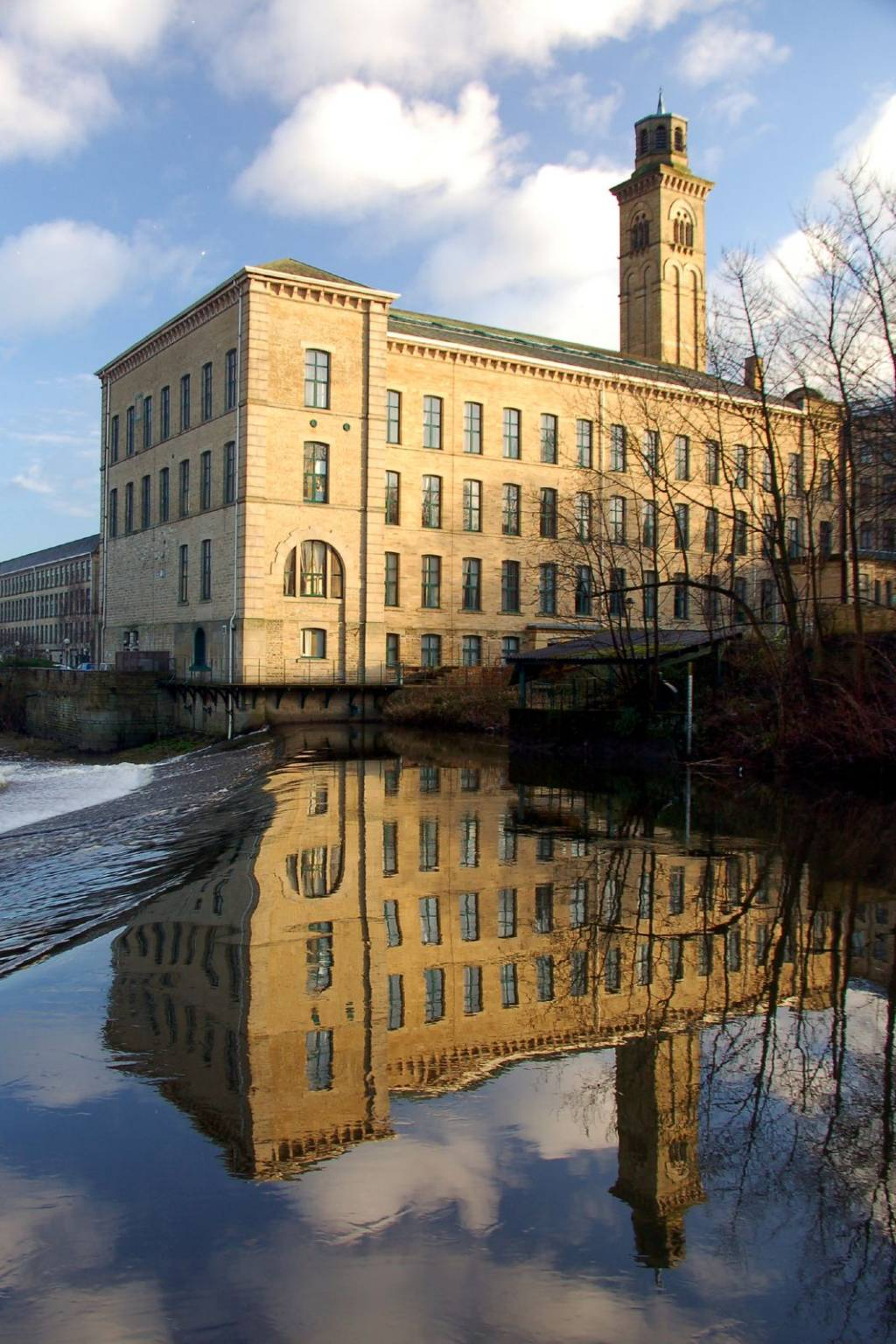industrial revolution essay in st person point of view speaking saltaire new mill part of a unesco world heritage site in west yorkshire england