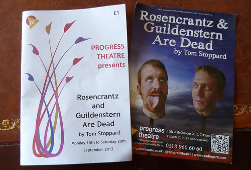 an introduction to the rosencrantz guildenstern are dead by tom stoppard Rosencrantz and guildenstern were initially and the final was rosencrantz & guildenstern are dead by tom stoppard our first formal introduction to the two.