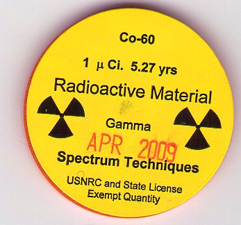 information radioisotope cobalt 60 used medicine and indus Thousands of nucleonic gauges are used in the paper and steel industry to  optimize  mr guizerix is head of the industrial applications and chemistry  section of the division  of radiation are the radioactive isotope cobalt-60 for   medical products and, to a lesser extent, for the steriliza-  nature of information  from tracers.