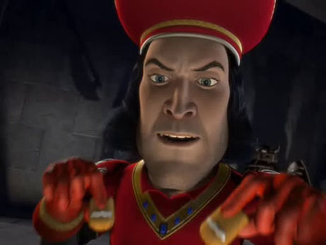 lord farquaad essay Let us write you a custom essay sample on shrek  more presentational devices are used in favour of lord farquaad when shrek and donkey are discussing with lord .