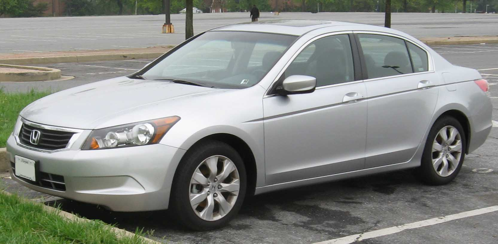 2008 Honda Accord Photographed In College Park Maryland USA Category