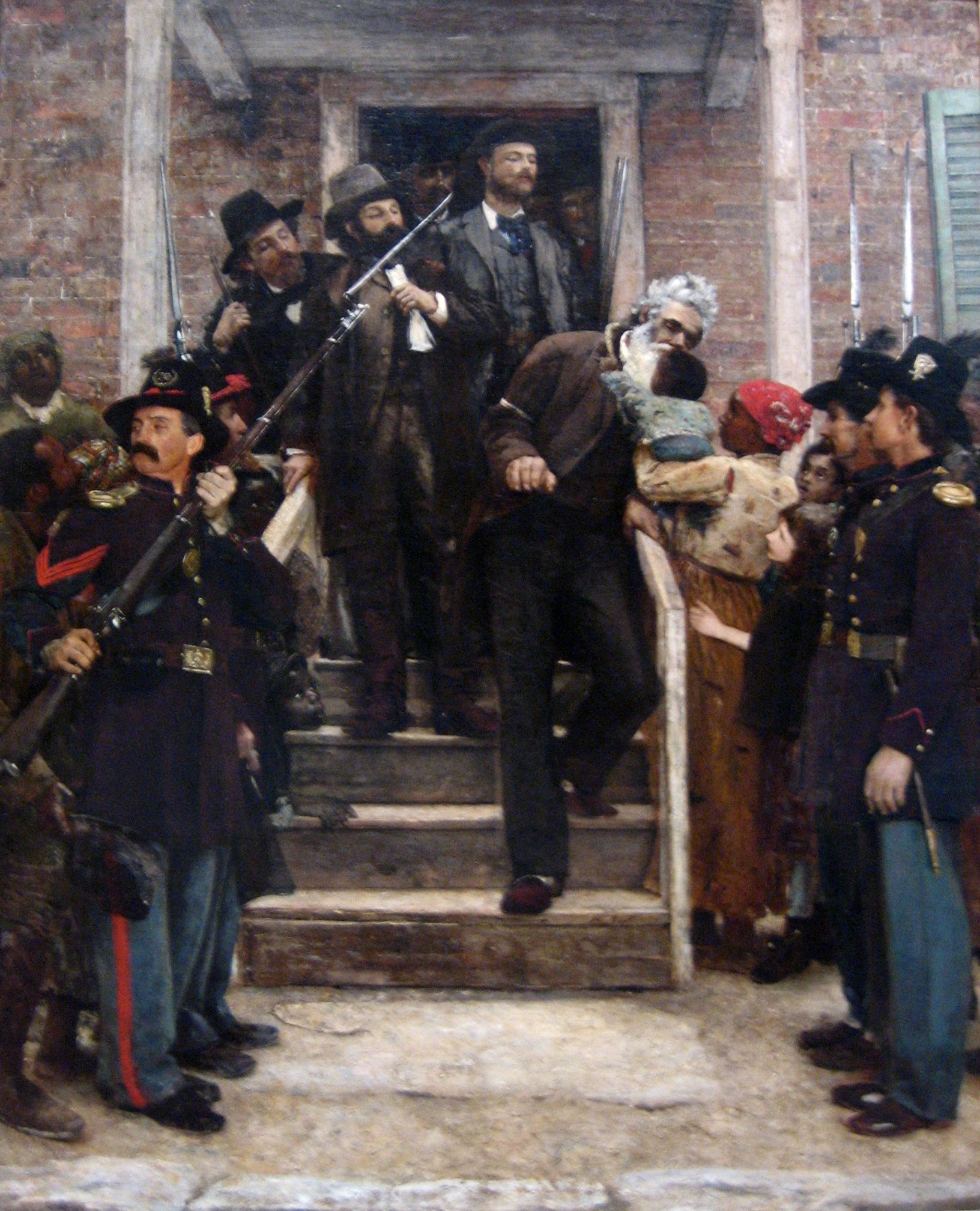 Thesis For Persuasive Essay English The Last Moments Of John Brown Oil On Canvas Painting By Essay Topics High School also Essay Writings In English This Essay Breifly Describes The Life Of John Brown And How He Was  Samples Of Essay Writing In English