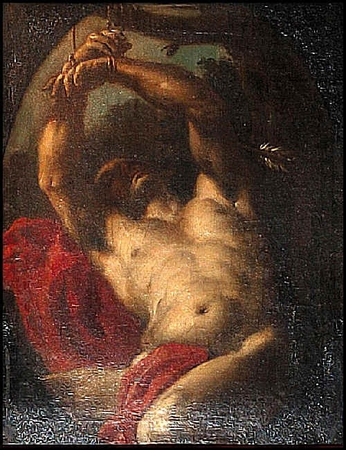 saint sebesation essay Martyrs in torment: saint sebastian and eroticized death by e nowicki the repeated sensationalized portrayal of roman martyr saint sebastian has created a powerful iconography.