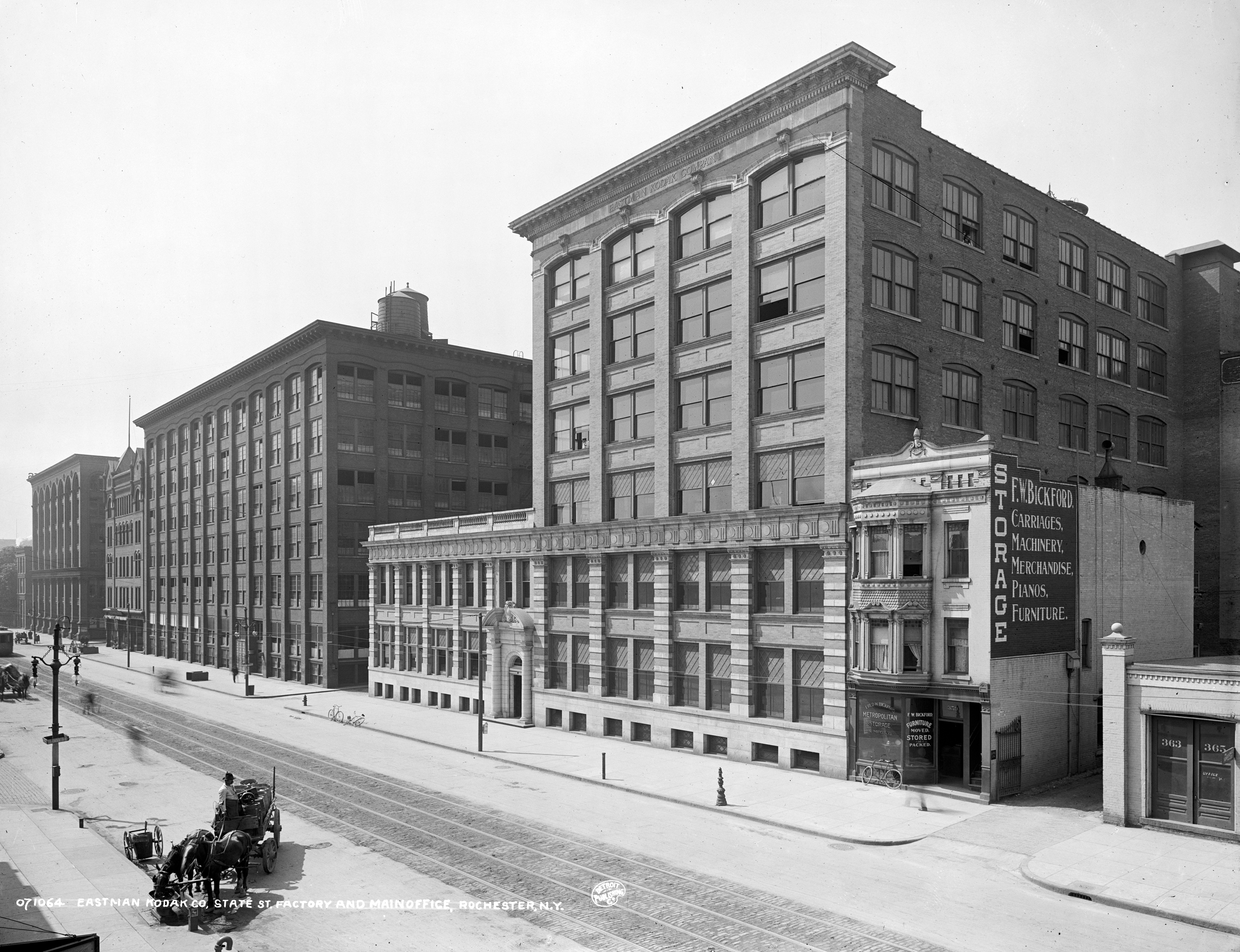 company kodak essay Background information kodak company was founded in 1880 by george eastman eastman invented and patented a dry-plate formula and a.