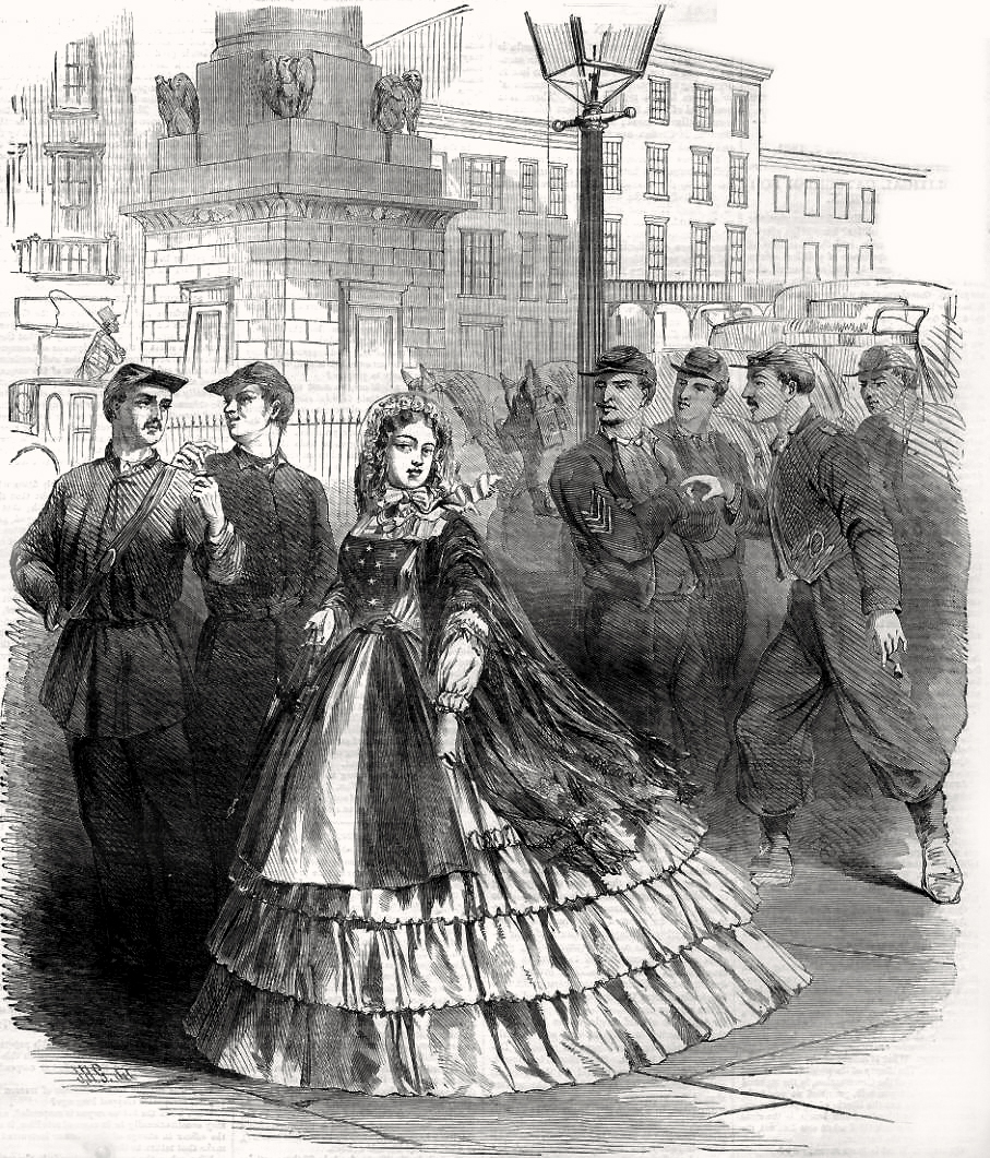 the glass menagerie character analysis of amanda wingfield cover illustration taken from the cover of harper s weekly 7 1861 showing a
