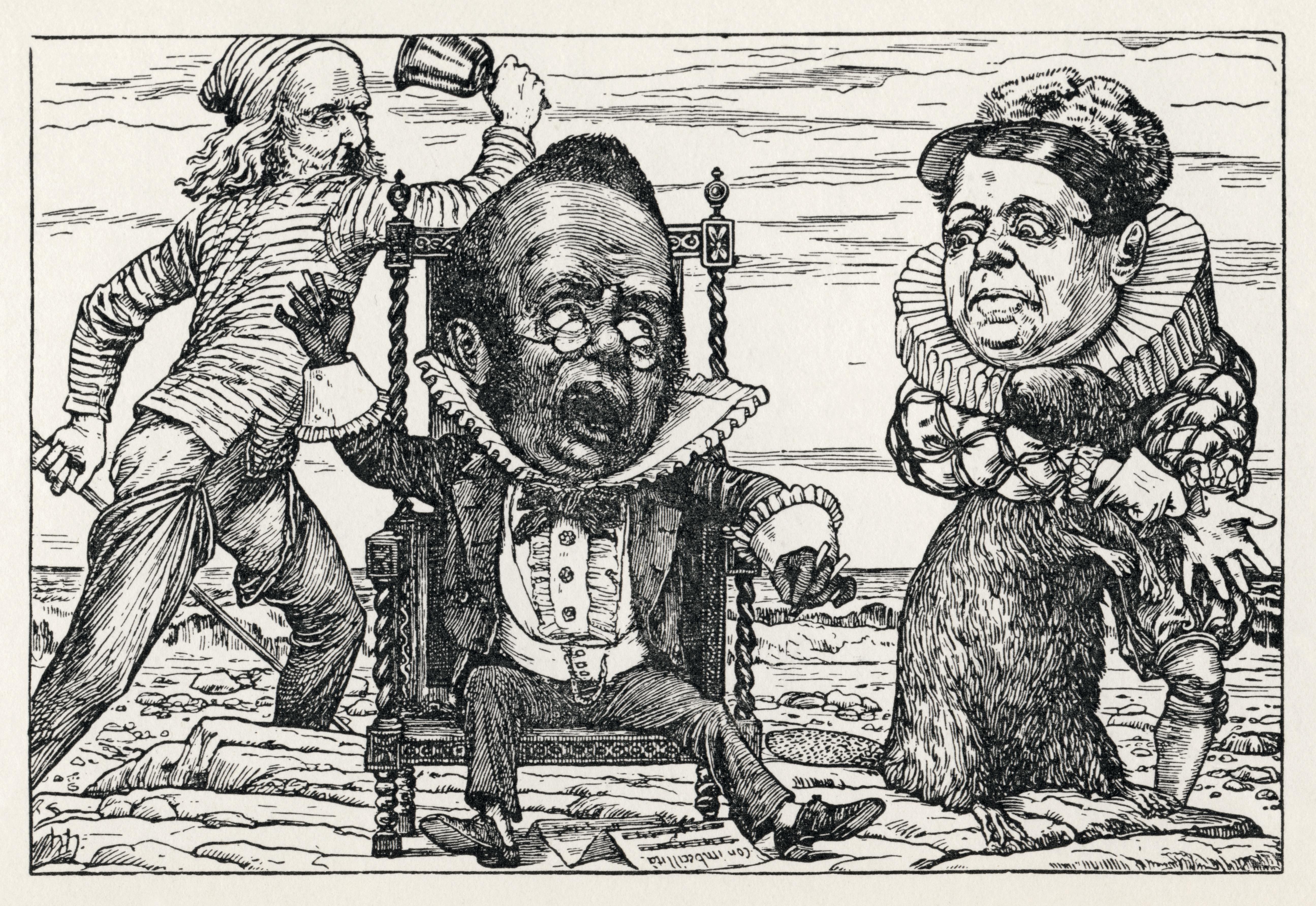 symbolism poem walrus and carpenter