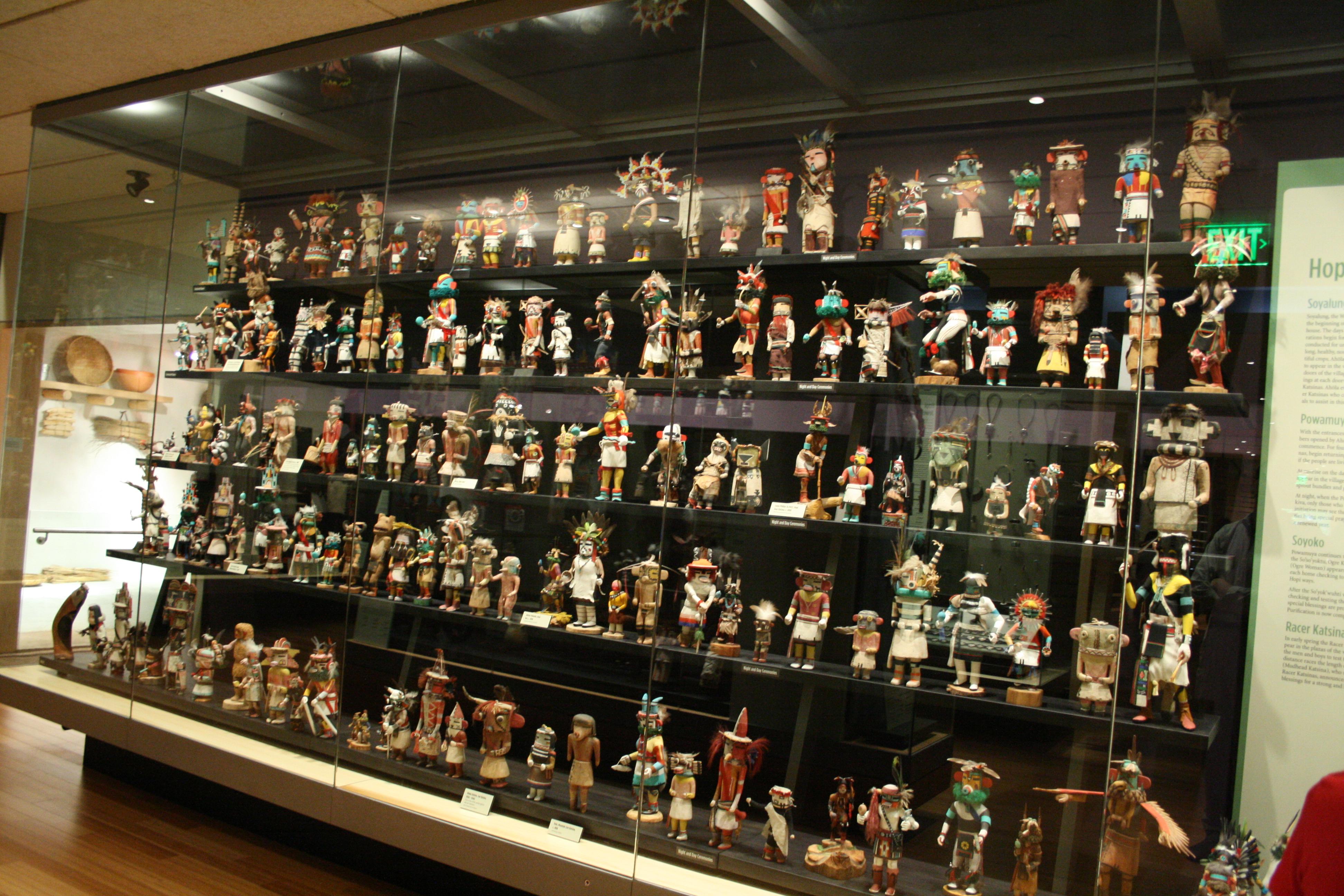 a dolls exhibit screening viewing