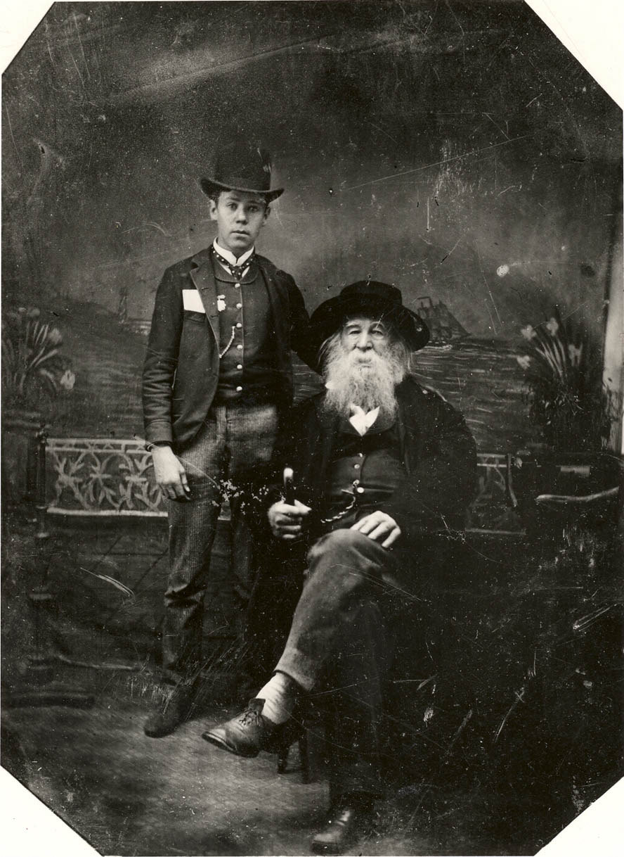 a look at what walt whitman was doing in 1855 hobbies stories he walt whitman and bill duckett