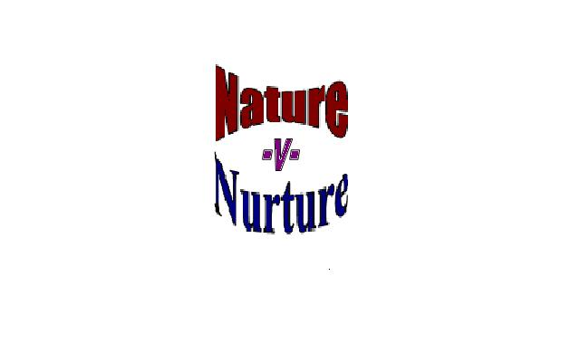 intelligence innate nature v nurture Nature vs nurture debate nature versus nurture is the issue of the degree to which environment and heredity influence behavior and development  intelligence and.