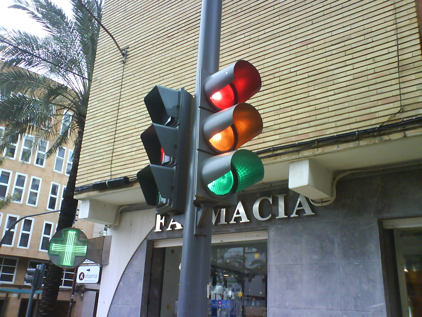 traffic light sequences