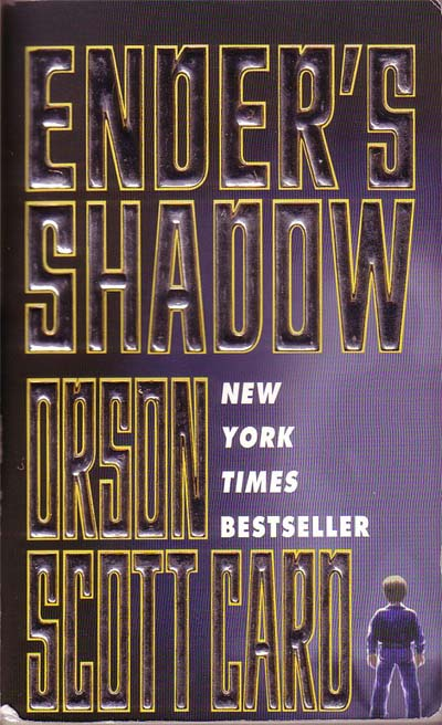 book report ender s shadow Ender's shadow, to start with, is a in ender's game and the book dictates his struggles with finding himself and caring for others create a free website.