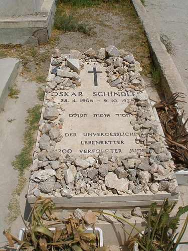 Oskar Schindler And The Schindler Jews  Writework Schindlers Grave Thesis Essay also Response Essay Thesis  Essay Science And Religion