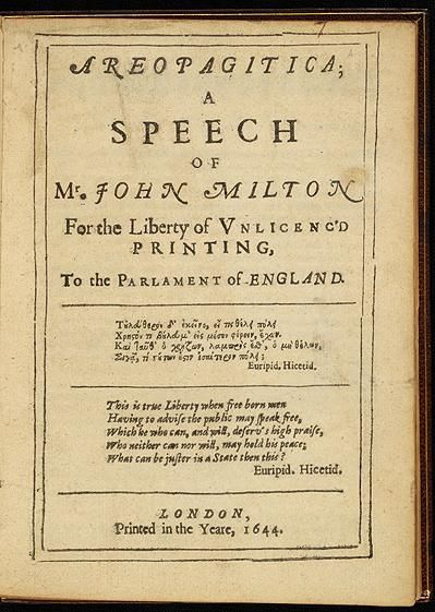 essays by john milton