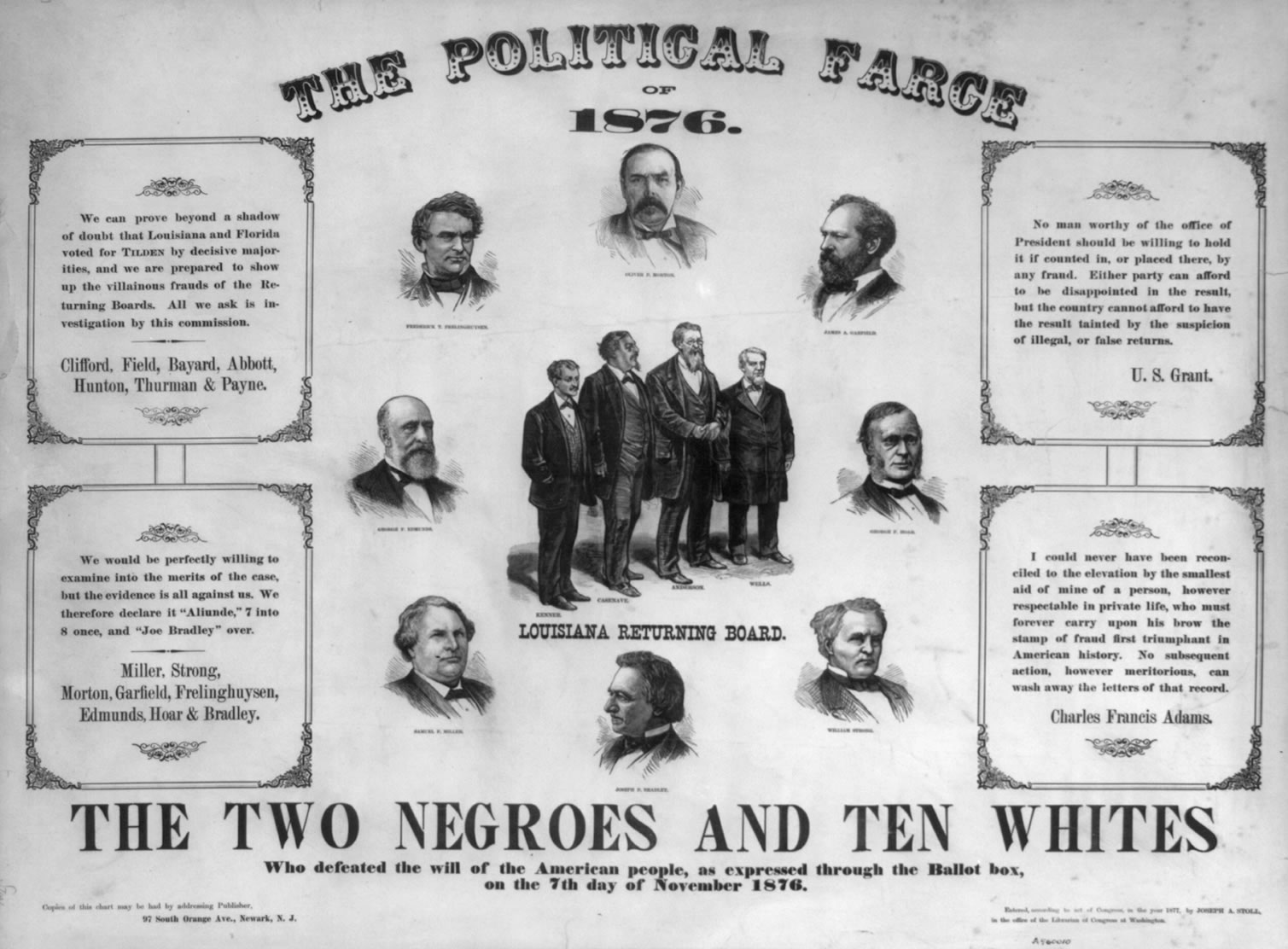 the election of 1876 essay Essay by papernerd contributor, college, undergraduate, october 2001  the  presidential election of 1876 took place in an atmosphere of.