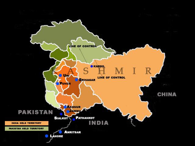 Cartina India Pakistan.The War Of 1965 Mission Kashmir Writework