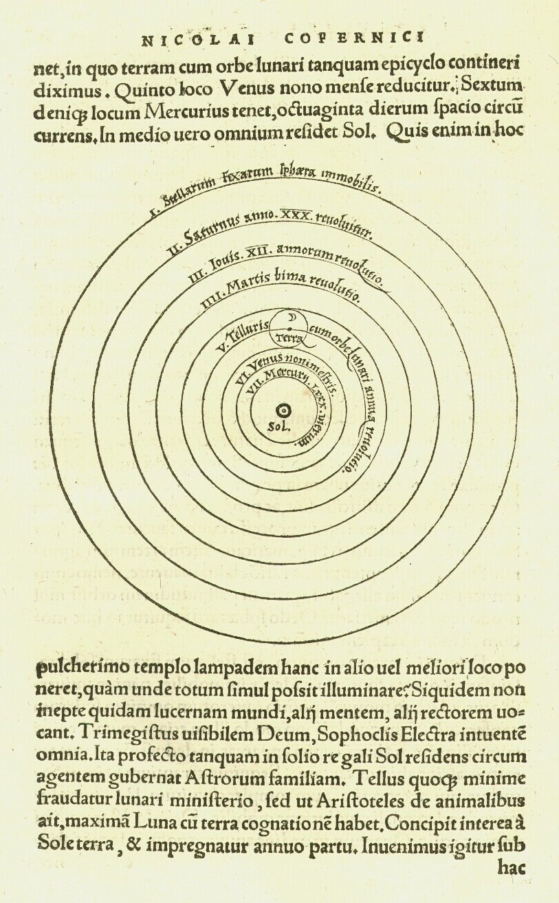 essay on heliocentrism The scientific revolution, which took place in the 16th and 17th centuries, was a time of unprecedented learning and discovery during this period, the foundations of modern science were laid.