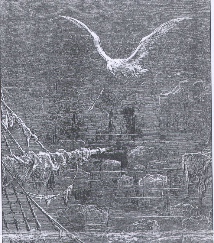 symbolism in the rime of the ancient mariner writework the albatross from the rime of the ancient mariner depicted by gustave dore