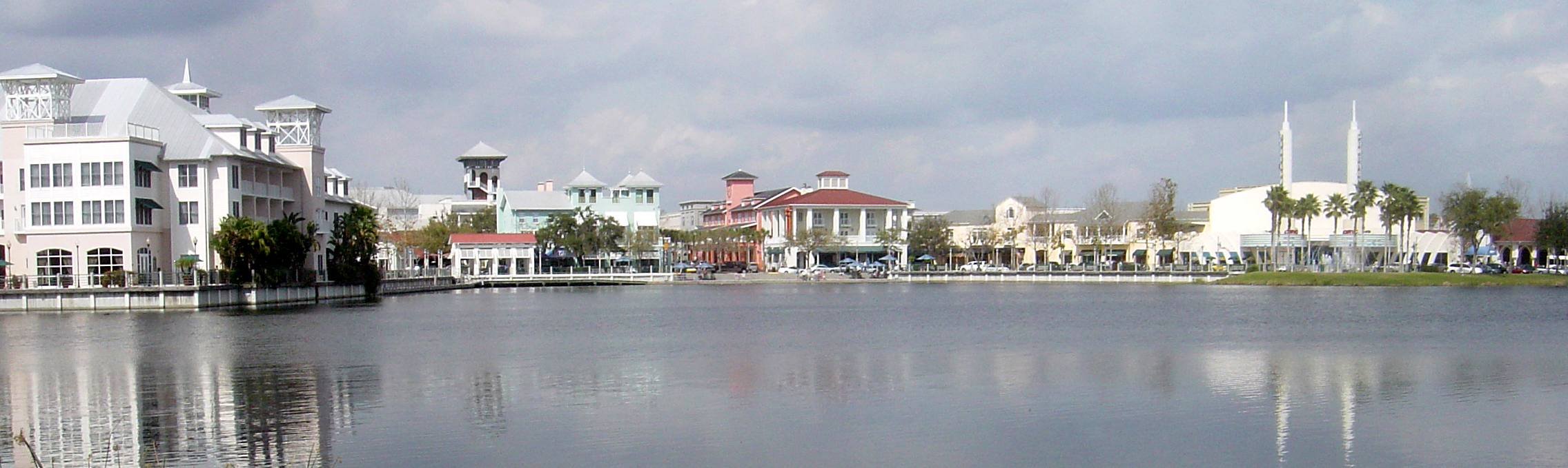 Essays On High School A View Of Downtown Celebration Florida The City Was Planned By The Walt  Disney Short English Essays For Students also Personal Essay Thesis Statement Themes In The Text The Handsomest Drowned Man In The World By  Expository Essay Thesis Statement Examples