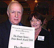 the empty space peter brook essays The following will be covered throughout this essay on the british theatre director, peter brook: an essay on british theatre director, peter the empty space.
