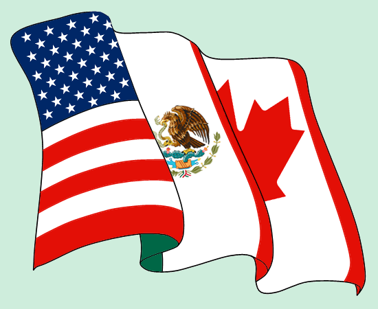 this an essay about the pros and cons of nafta and its effects on  english a north american trade agreement nafta logo espanol logotipo