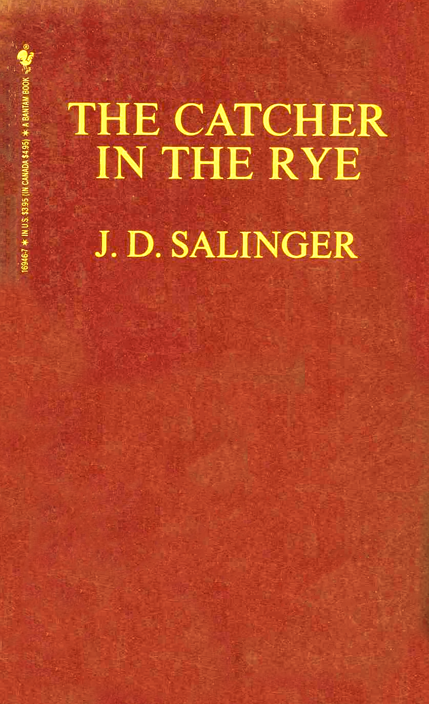 catcher in the rye by j.d. salinger essay View and download catcher in the rye essays examples also discover topics, titles, outlines, thesis statements, and conclusions for your catcher in the rye essay.