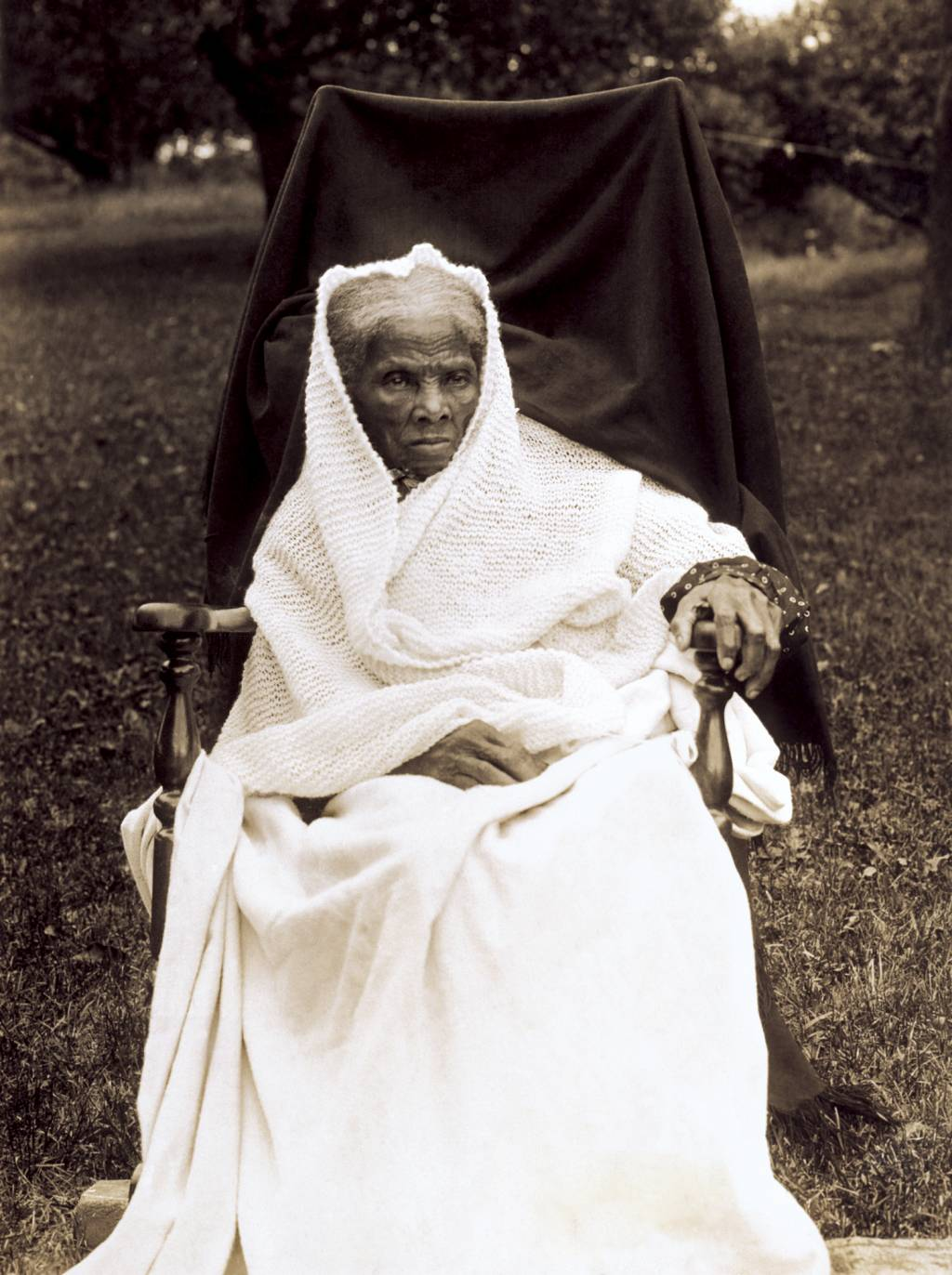 harriet tubman s greatest achievements  harriet tubman full length portrait seated in chair facing front probably