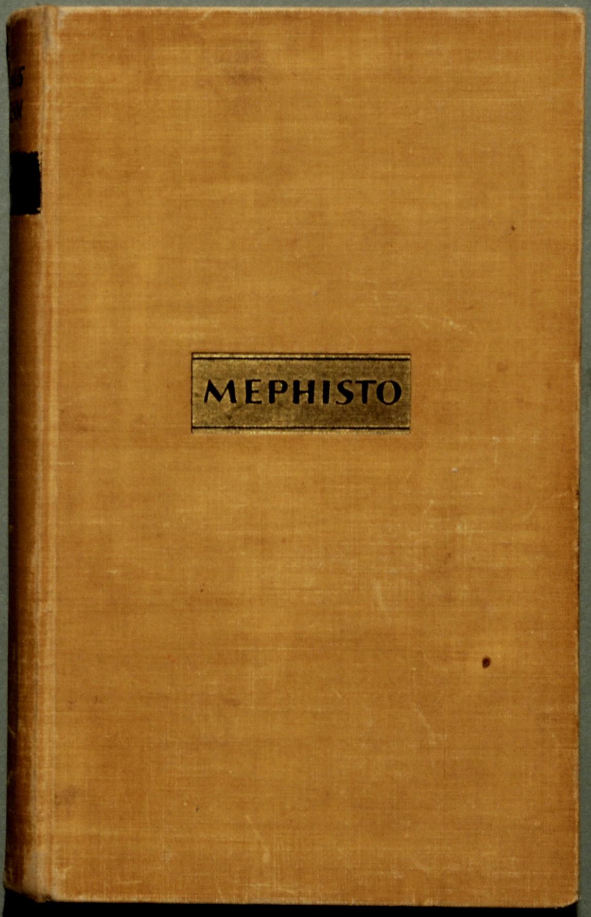 mephisto roman einer karriere essay
